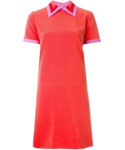 ROKSANDA | Платье-Шифт С Контрастной Окантовкой
