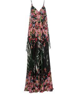 Elie Saab | Длинное Платье С Цветочным Принтом