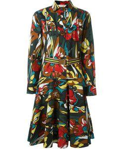 Marni | Платье-Рубашка С Цветочным Принтом