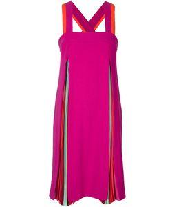 Mary Katrantzou | Платье С Плиссированными Вставками Acer