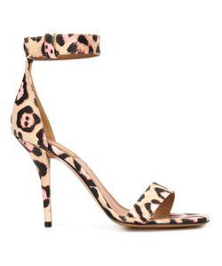 Givenchy | Леопардовые Босоножки