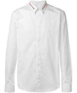 Givenchy | Рубашка С Молниями На Воротнике
