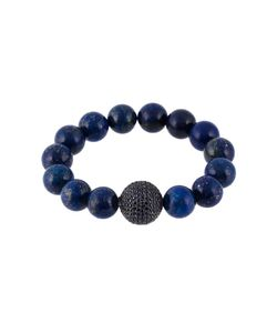 GEMCO | Beaded Sapphire And Diamond Ball Bracelet