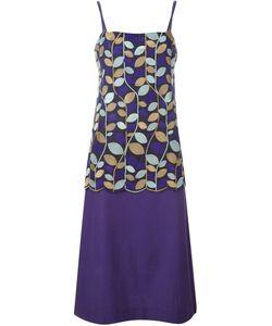 Comme Des Garcons | Платье С Растительным Узором