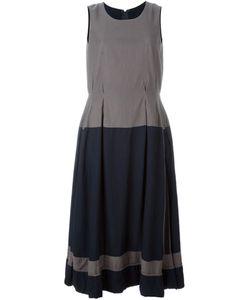 Comme Des Garcons | Двухцветное Плиссированное Платье