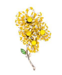 CHRISTIAN LACROIX VINTAGE | Flower Motif Brooch