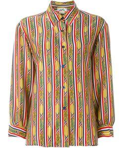 Hermès Vintage | Рубашка С Бамбуковым Принтом