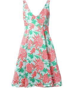 P.A.R.O.S.H. | Жаккардовое Расклешенное Платье