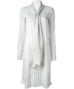 Maison Margiela | Платье-Рубашка В Полоску