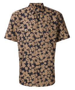Julien David   Тканая Рубашка С Цветочным Принтом