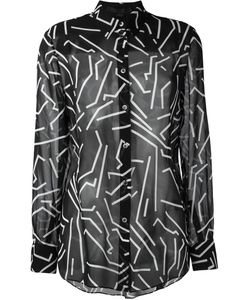 Alexander Wang | Рубашка С Геометрическим Принтом
