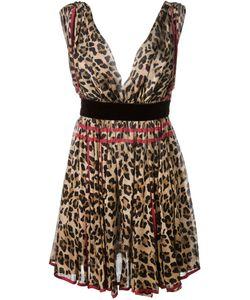 Dsquared2 | Платье С Леопардовым Принтом