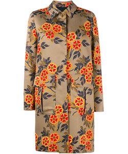 MSGM | Пальто С Цветочным Узором