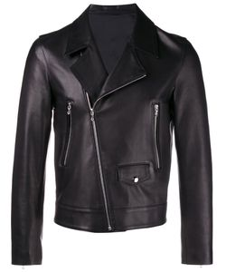 Curieux | Leather Biker Jacket