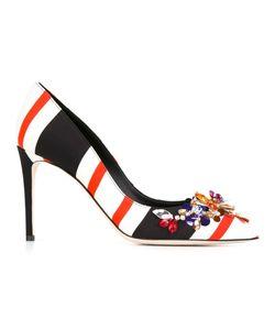 Dolce & Gabbana | Декорированные Туфли В Полоску