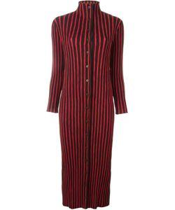 ISSEY MIYAKE VINTAGE | Плиссированное Полосатое Платье