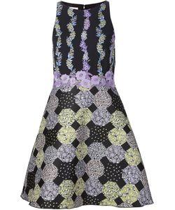 GIAMBA | Расклешенное Платье С Цветочным Принтом