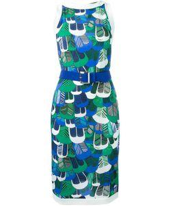 Dsquared2 | Платье С Принтом Перьев