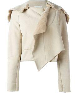 HELMUT LANG VINTAGE | Укороченная Куртка С Овчиной