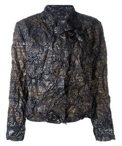 ISSEY MIYAKE VINTAGE | Куртка С Запахом И Эффектом Помятости