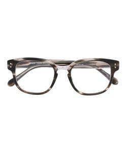 Linda Farrow | Square Frame Sunglasses 49 Acetate/Metal