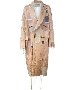 Heikki Salonen   Длинное Пальто В Стиле Пэчворк