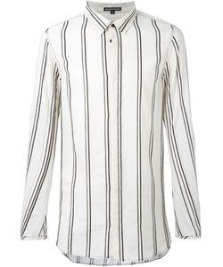 Ann Demeulemeester | Полосатая Рубашка Свободного Кроя