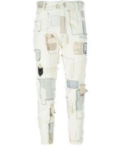 Heikki Salonen | Лоскутные Джинсы Кроя Скинни