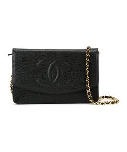 Chanel Vintage | Сумка Через Плечо С Тисненым Логотипом