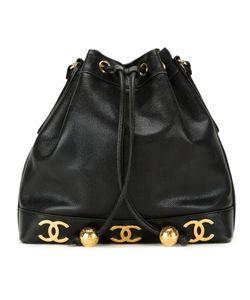Chanel Vintage | Сумка-Мешок С Бляшками С Логотипом