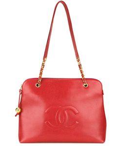 Chanel Vintage | Сумка На Плечо С Тисненым Логотипом