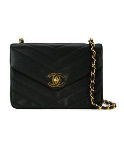 Chanel Vintage | Сумка С Простроченным Узором-Елочкой
