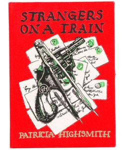 Olympia Le-Tan | Strangers On A Train Clutch