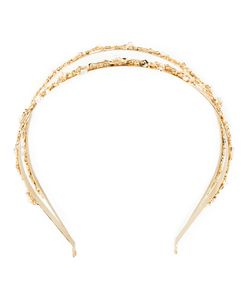 Rosantica | Headband Duo 24kt Plated Metal/Pearls