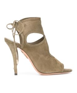 Aquazzura | Sexy Thing Sandals 38 Suede/Leather