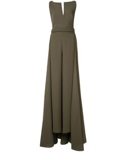 Brandon Maxwell | Flared Maxi Dress Size 2