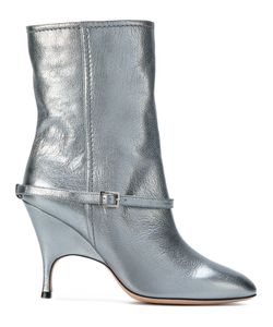 Alchimia Di Ballin   Buckle Detail Mid Calf Boots Women