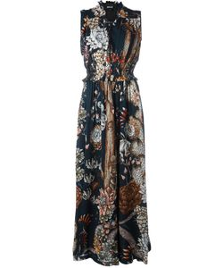 Just Cavalli | Patterned Maxi Dress 40 Viscose