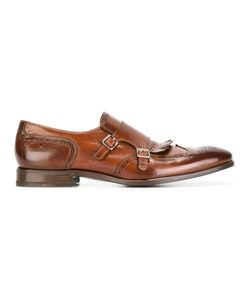 HENDERSON BARACCO | Perforated Detail Monk Shoes 41 Calf