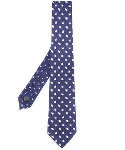 Fefè | Swan Pattern Tie