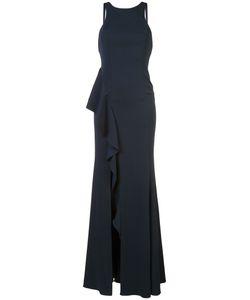 Jay Godfrey | Side Ruffle Gown