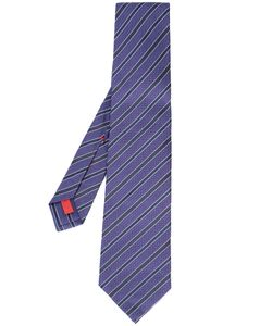 Isaia | Diagonal Striped Tie Men One