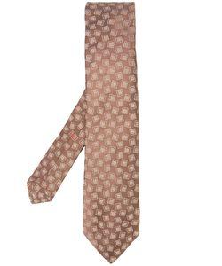 Isaia   Square Print Tie