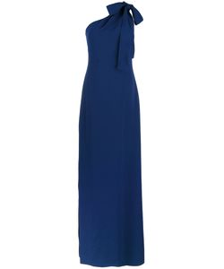 BOUTIQUE MOSCHINO | Tied One Shoulder Gown Size 40