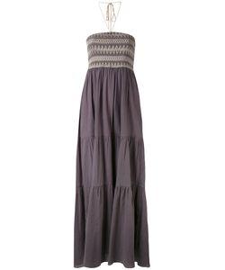 HARARE   Длинное Платье С Орнаментом