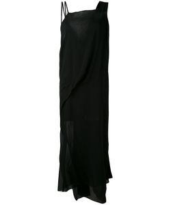 Isabel Benenato | Полупрозрачное Платье Шифт