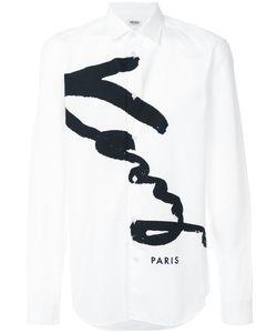 Kenzo | Рубашка С Принтом Логотипа