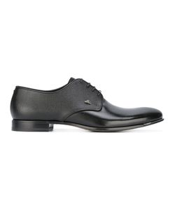 Fabi   Grained Derbies 46 Patent Leather/Leather/Rubber