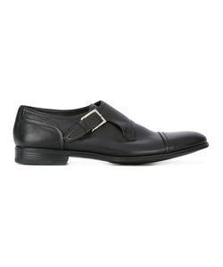 Fabi | Buckled Monk Shoes 43.5 Calf Leather/Leather/Rubber