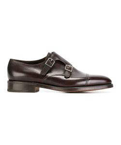 JOHN LOBB   Classic Monk Shoes 7.5 Leather